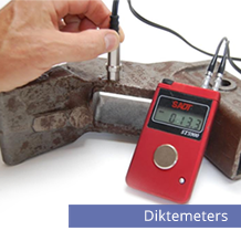 Diktemeters wanddiktemeters