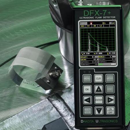 Ultrasoon - Inspectietechniek.com - Dakota DFX 7 compacte ultrasoontester