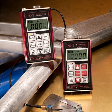 Dakota Ultrasonics- PX-7 ultrasoon diktemeter voor dun en vlak materiaal