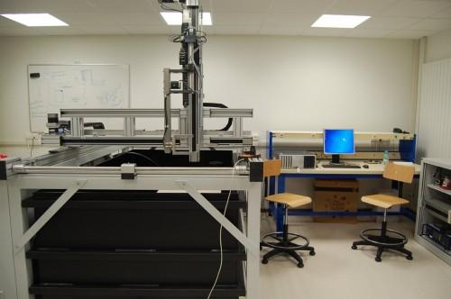 Inspectietechniek.com - Polair C-scan systeem Georgia Tech instituut Metz (Fr)