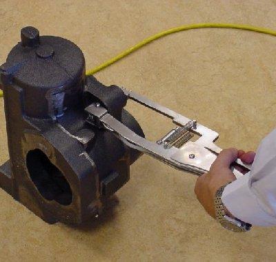 Industriële producten - Inspectietechniek.com - Semi automatische Nodulariteitstester