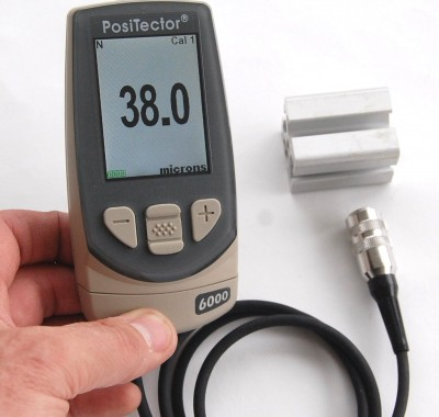 Laagdiktemeter - Inspectietechniek.com - DeFelsko 6000 NAS probe voor geanodiseerde oppervlakken