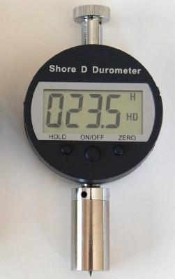 Hardheidsmeter - Inspectietechniek.com - Shore D digitale hardheidsmeter-durometer IT611D