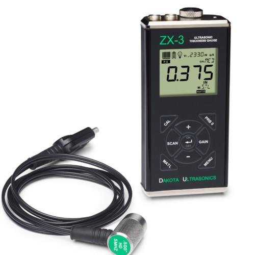 Diktemeters - Inspectietechniek.com - Dakota ZX-3 diktemeter met transducer